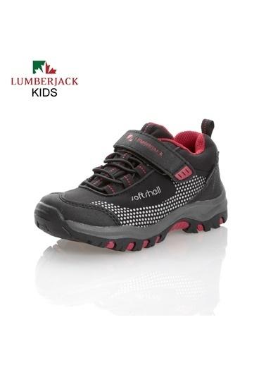 Lumberjack  Termo Bantlı Su Geçirmez Koyu Erkek Çocuk Fuller Spor Ayakkabı Siyah